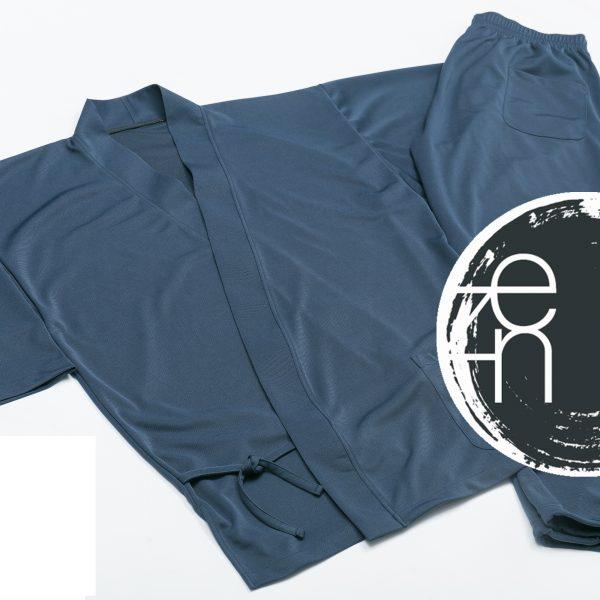 SHOJIN作務衣(オリジナル形状記憶ニット生地)